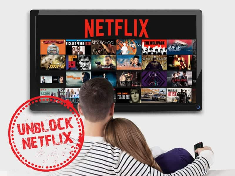 解除Netflix阻止的国外VPN