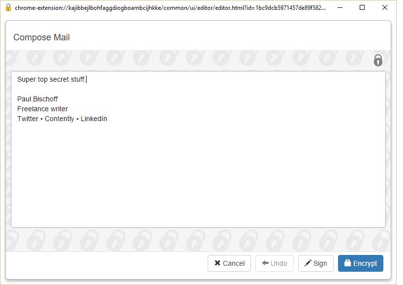 如何加密和保护您的电子邮件
